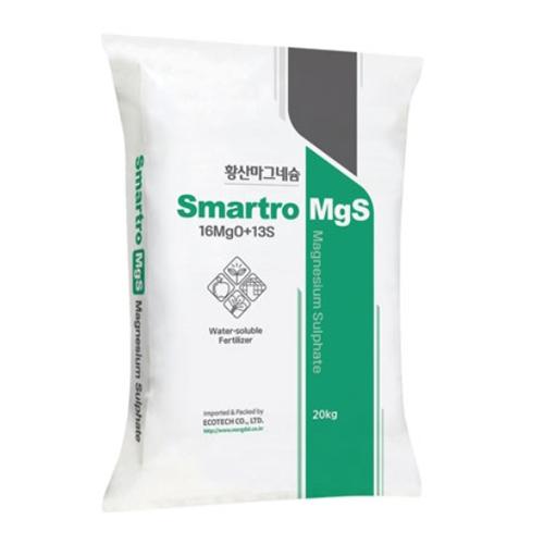 Smartro MgS 황산마그네슘 - 20kg 수용성 황산고토비료