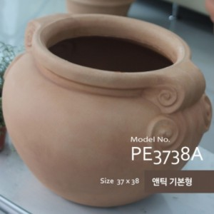이태리 PE 테라코타 화분 PE3738A