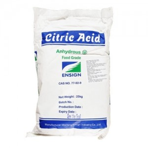 구연산 무수 25kg - 세척제 소독제 킬레이트제 비료원료